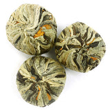 Or Tea? Natural Tea Blossoms | Loose Leaf Green Tea with Flowers