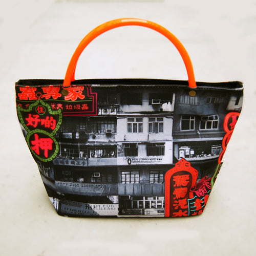 'Yaumati Tattoo' mini tote