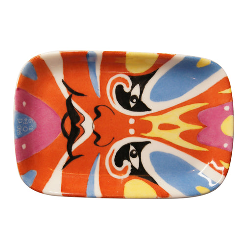 'Opera Face' handpainted soap dish