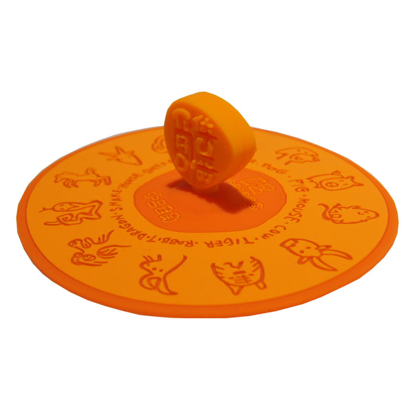 Chinese Zodiac Mug Lid (Orange)