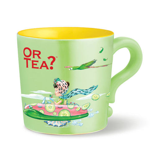 Or Tea? Mug Lime Green Mug