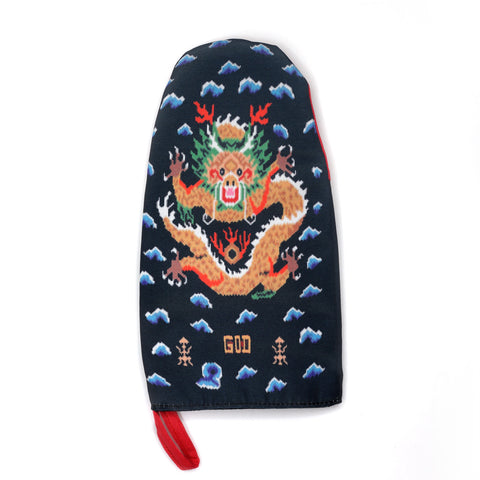 'Digital Dragon' oven mitt - Goods of Desire