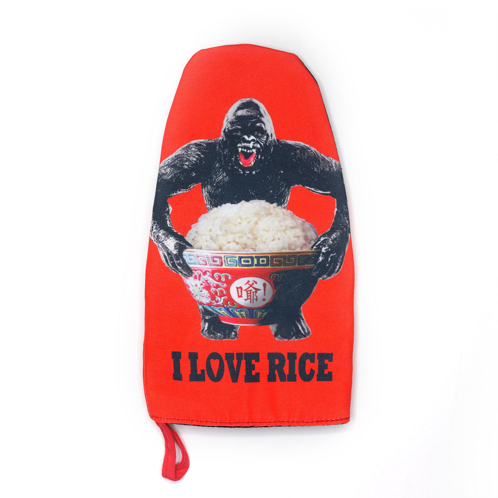 'King Kong Rice' oven mitt