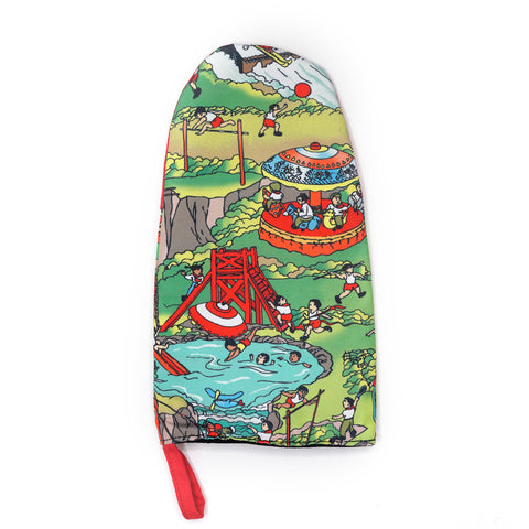 'Children at Play' oven mitt - Goods of Desire
