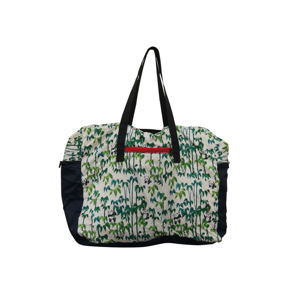 'Panda Bamboo' Foldable Travel Duffel