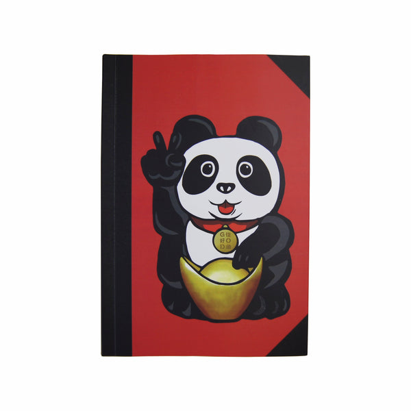 'Lucky Panda' noteboook