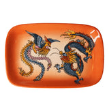 'Dragon Phoenix' Hand Painted Soap Dish