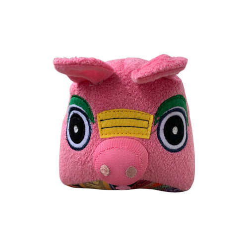 'Pig King' stuffed toy