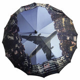 'Aeroplane' long umbrella