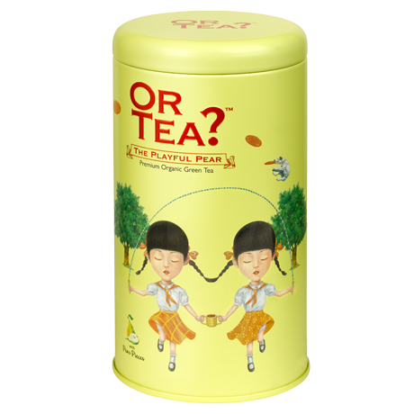 Or Tea? Playful Pear | Loose Leaf Pear Green Tea
