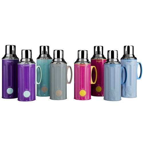 CAMEL 1.1L Double-walled Glass Vacuum Flask
