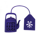 'Mini Teapot' tea infuser (Purple)