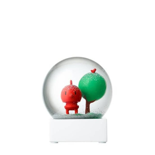 Hoptimist Snow Globe Red Baby Bumble, Red