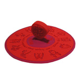 Chinese Zodiac Mug Lid (Red)