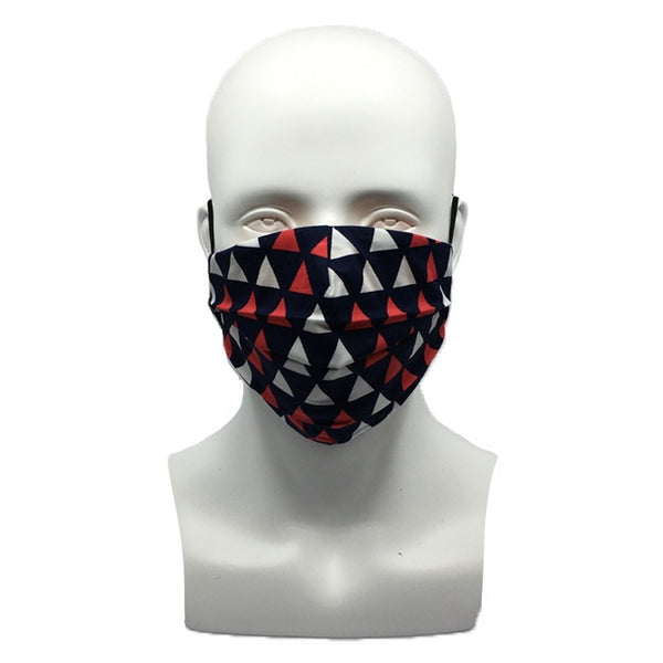 Triangles Pleated Mask