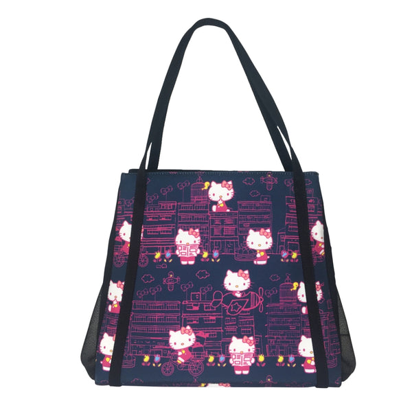 661a31d174bc Hello Kitty x G.O.D. Yaumati  large tote bag (navy) – Goods of Desire