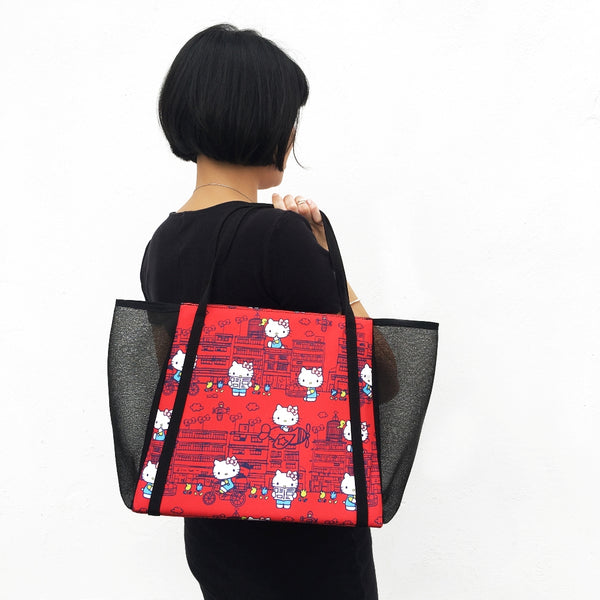49d20a6434c6  Hello Kitty x G.O.D. Yaumati  large tote bag (red) – Goods of Desire