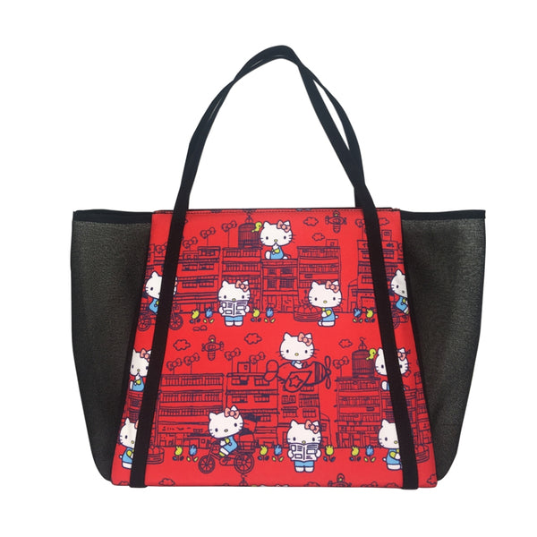 5964932964d7 Hello Kitty x G.O.D. Yaumati  large tote bag (red) – Goods of Desire