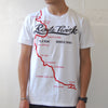 'Route Twisk' T-shirt, White