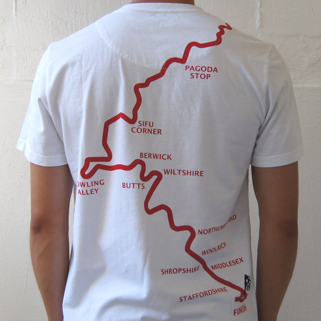 'Route Twisk' Tee (White)