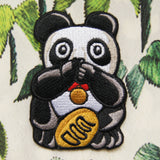 'Panda (Speak No Evil)' embroidered patch