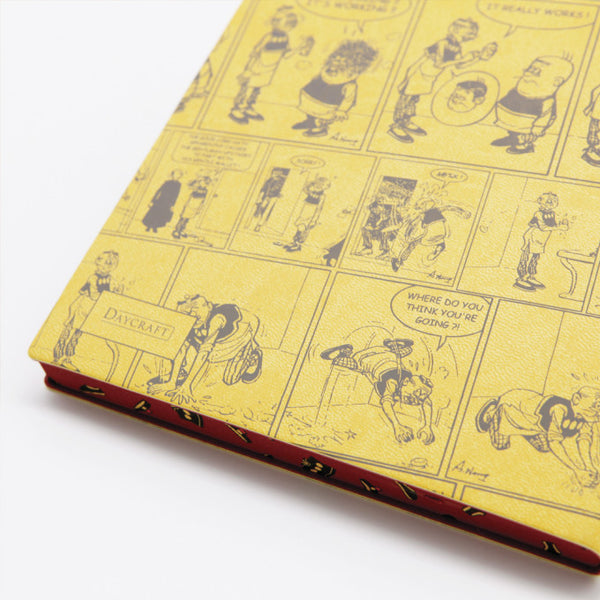 Daycraft Signature Lined Notebook Old Master Q Edition - A5,  Classic Comic