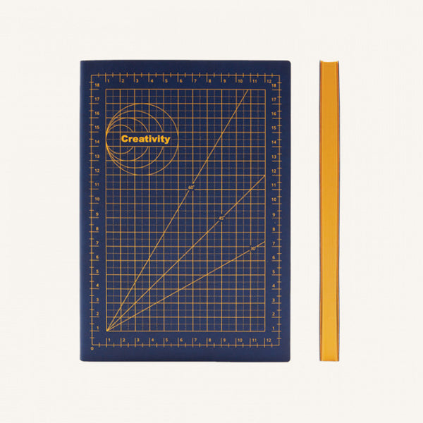 Daycraft Signature Mathematical Grids Grid Notebook - A5, Creativity