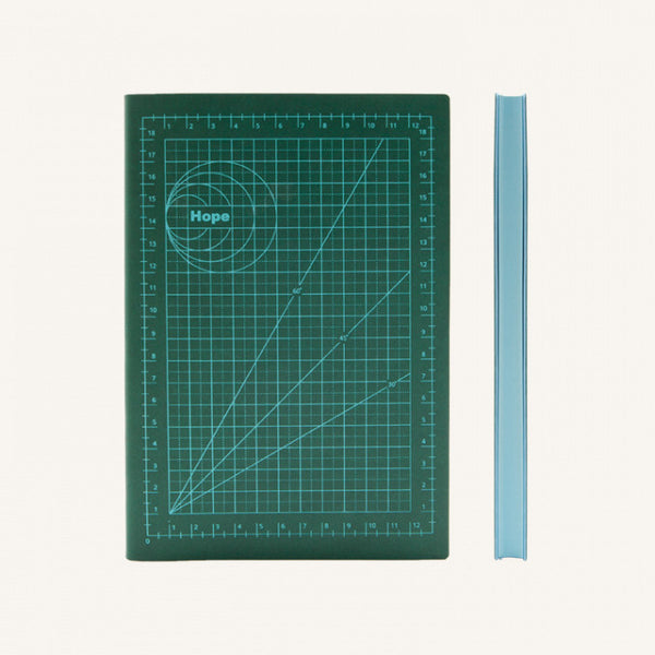 Daycraft Signature Mathematical Grids Grid Notebook - A5, Hope
