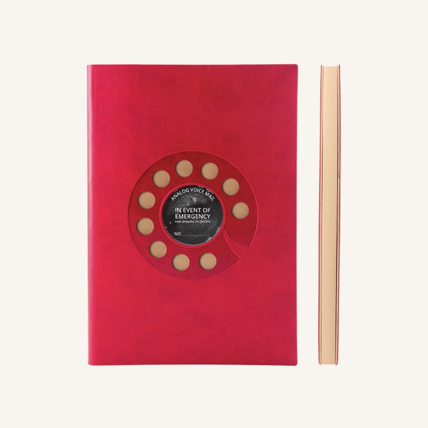 Daycraft Signature Retro Plain Notebook - Rotary
