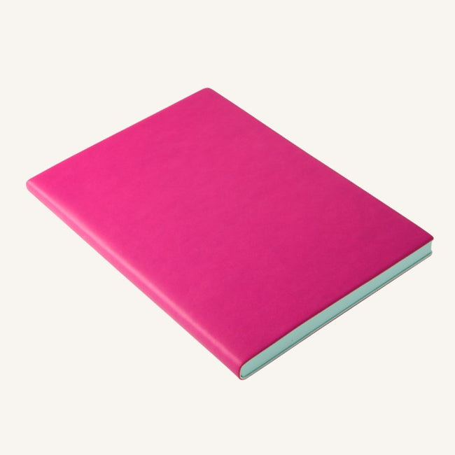Daycraft Signature lined notebook A5 (magenta)