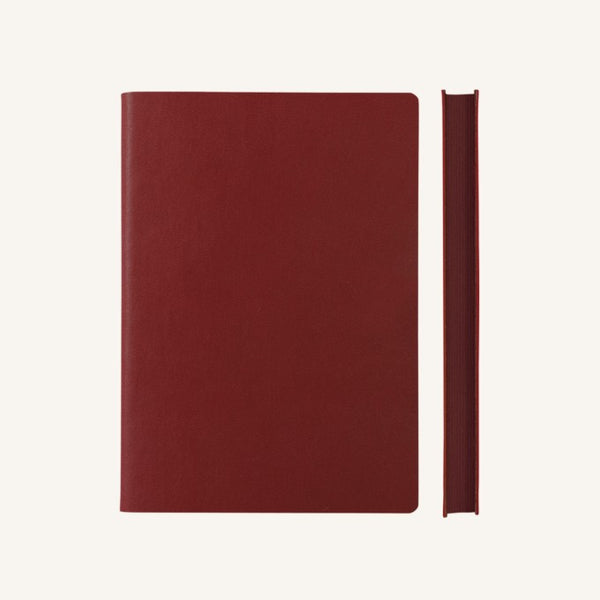 Daycraft Signature lined notebook A6 (red)