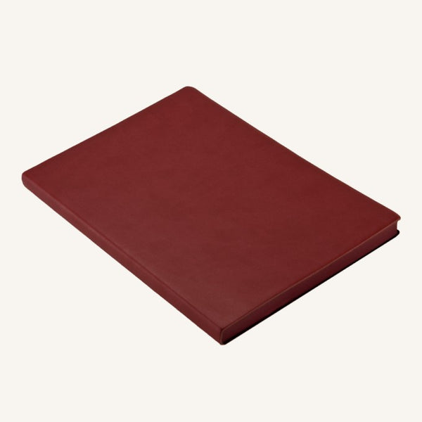 Daycraft Signature plain notebook A6 (red)