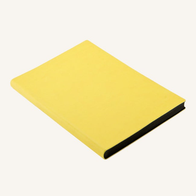 Daycraft Signature lined notebook A5 (yellow)