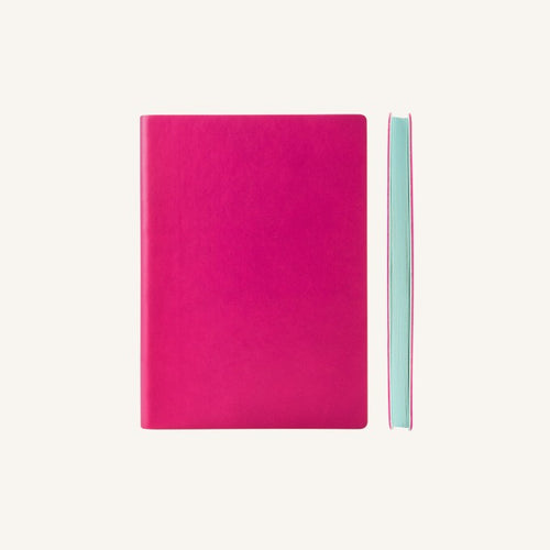 Daycraft Signature plain notebook A6 (magenta)