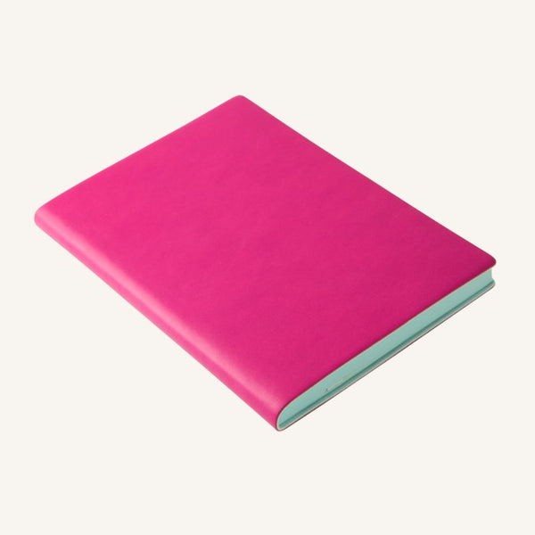 Daycraft Signature lined notebook A6 (magenta)