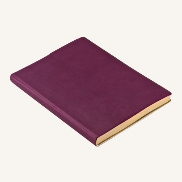 Daycraft Signature plain notebook A6 (purple)