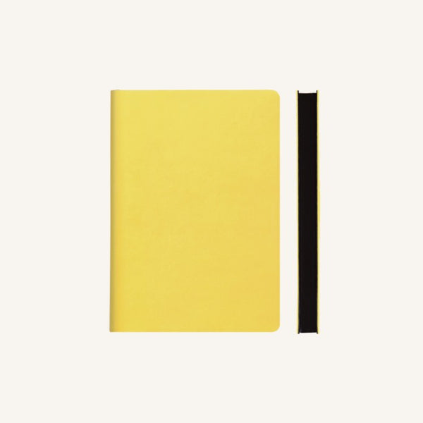 Daycraft Signature plain notebook A6 (yellow)