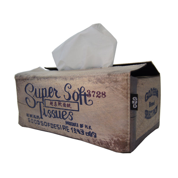 'Super Soft' tissue box cover