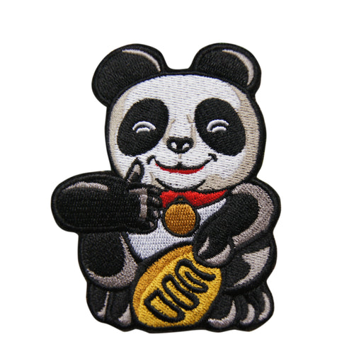 'Panda (Thumbs Up)' embroidered patch
