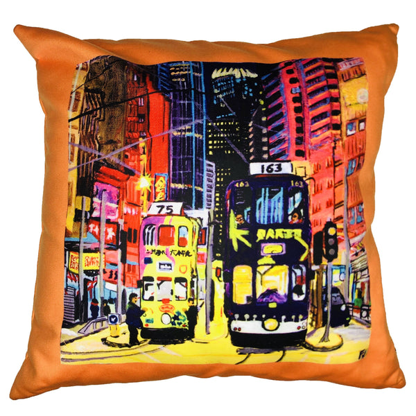 diFV-art Trams Cushion Cover (45 x 45 cm)
