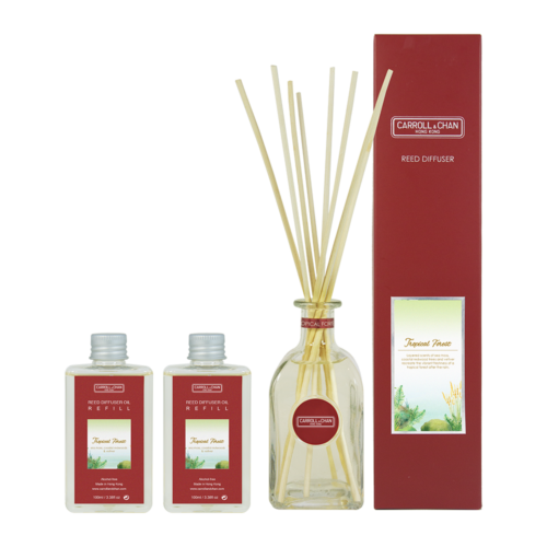 Tropical Forest 200ml Diffuser Set by Carroll&Chan