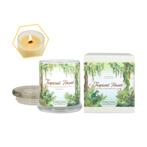 Tropical Forest Beeswax Jar Candle by Carroll&Chan