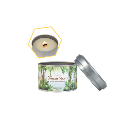 Green Tea Beeswax Tealight Candles by Carroll&Chan