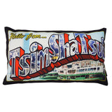 'Tsim Sha Tsui' cushion with filling