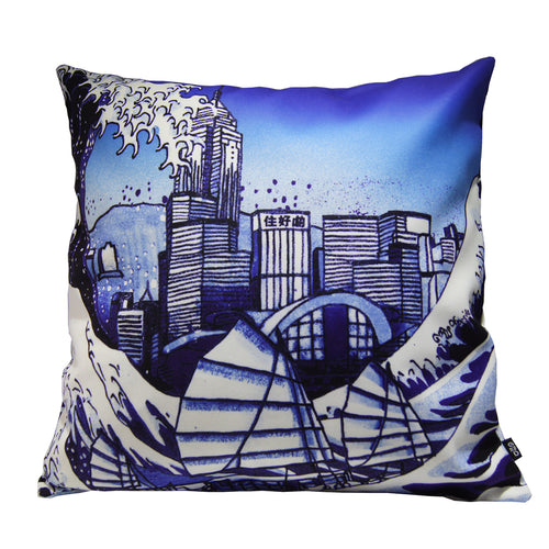 'Tsunami' cushion cover