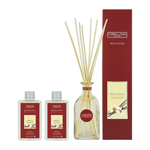 French Vanilla 200ml Diffuser Set by Carroll&Chan