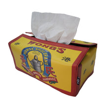 Load image into Gallery viewer, 'Wong's' tissue box cover
