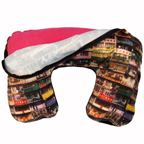 'Yaumati' inflated travel pillow