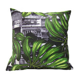 'Yaumati Jungle' cushion cover