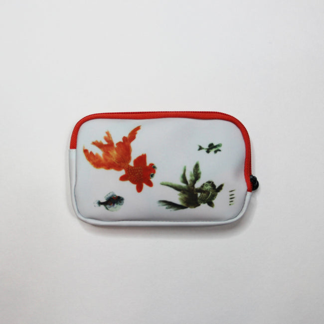 'Goldfish' double-sided meeting essentials pouch